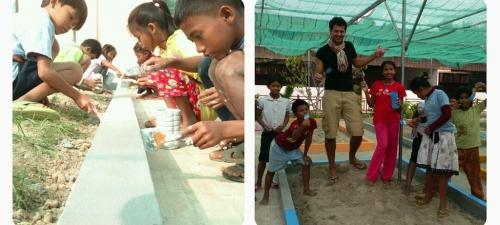 Lucas's vrijwilligerswerk in Cambodja